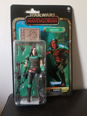 Star wars black series cara dune credit collection for Sale in Garden Grove, CA