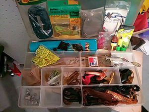 Fishing lures/hooks/weights etc for Sale in Tampa, FL