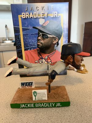 Jackie Bradley Jr Bobblehead - Pawtucket Red Sox Gold Glove - NIB Boston for Sale in Boston, MA
