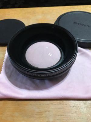 Sony Wide Conversion lens for digital still camer for Sale in Los Ranchos de Albuquerque, NM