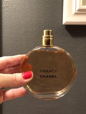 Chanel Chance - 3.4 Perfume eau de parfum - FREE SHIPPING for Sale in Barnegat, NJ