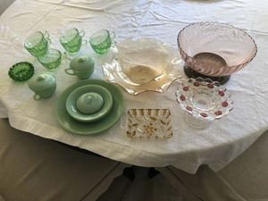 Fiesta, McCoy, Bauer, Hall, Milk glass, pottery etc. for Sale in Las Vegas, NV