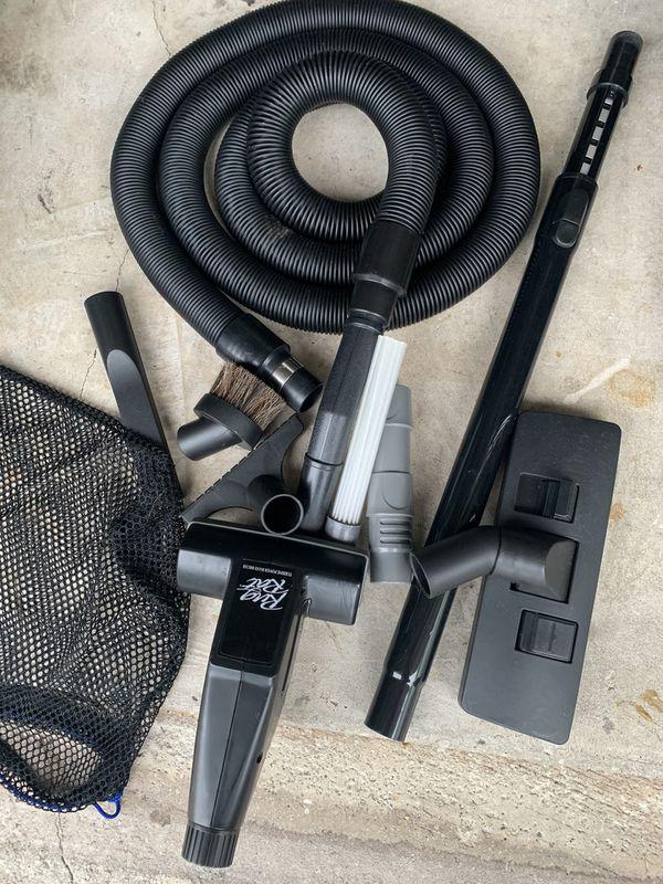 Motorhome/RV/Camper In house vacuum attachment set