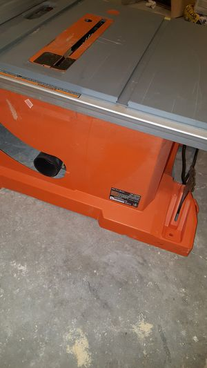 Rigid R4513 table saw for Sale in Fort Worth, TX