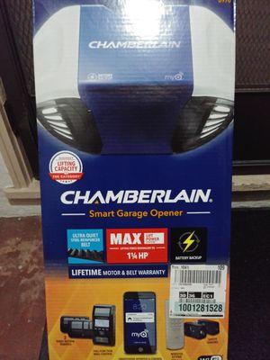 Chamberblin smart garage door opener for Sale in San Jose, CA