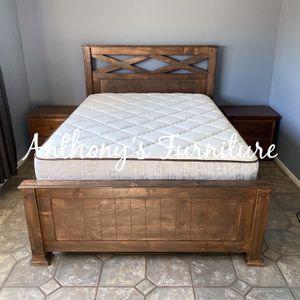 Queen Bed & Bamboo Mattress Ser for Sale in Norwalk, CA