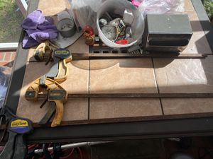 Bar Clamps 2 quick grip sz 24 and 28 and 1 dewalt sz 24 for Sale in Chesapeake, VA