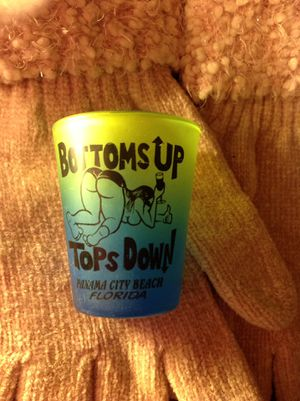 Florida Shot glass bottoms up tops down for Sale in Louisville, KY