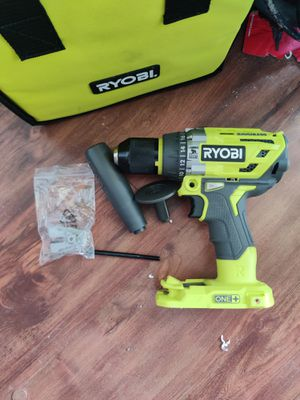 RYOBI 18-Volt ONE+ Cordless 1/2 in. Hammer Drill/Driver (Tool Only) with Handle for Sale in CA, US