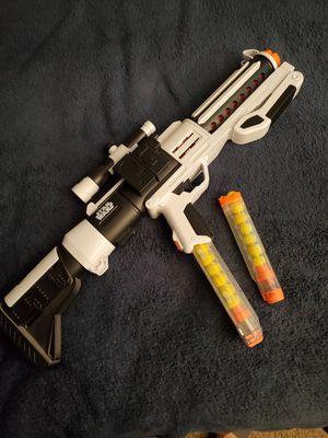 Star wars stormtrooper nerf gun for Sale in San Bernardino, CA