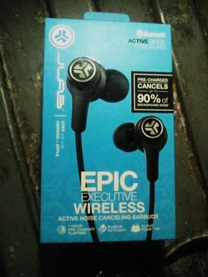 JLAB Executive Wireless Active Noise Canceling Earbuds for Sale in San Diego, CA