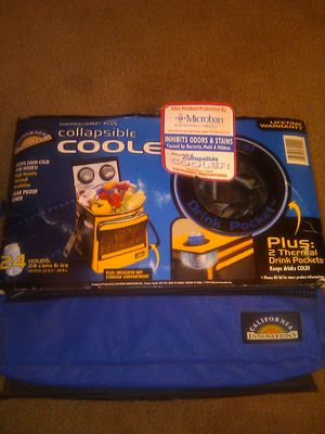 Collapsible cooler. $10. NEW. for Sale in Fresno, CA