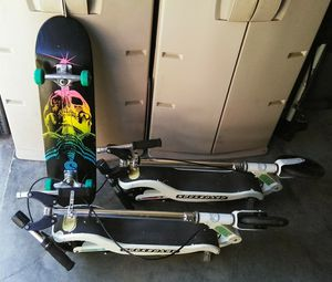 Skateboard and Scooters All Three For $90 for Sale in Chesapeake, VA