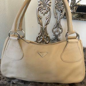 PRADA Vintage Vitello Daino Nero Hobo Shoulder Bag! for Sale in Houston, TX