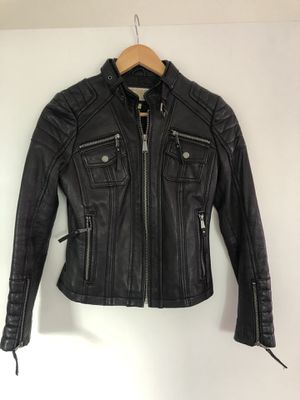 Michael Kors leather jacket for Sale in Midvale, UT