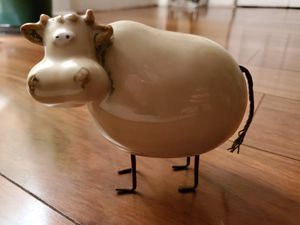 Antique cow figurine made in china for Sale in Pompano Beach, FL