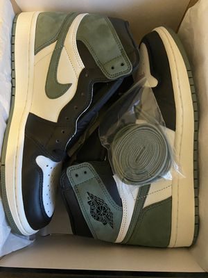 Air Jordan 1, Clay green, size 9 for Sale in Somerset, NJ