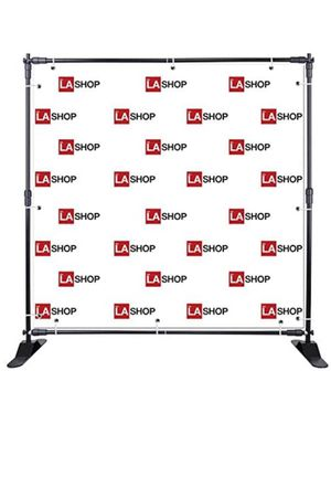 Back drop expandable 8' for filming and banners for Sale in Los Angeles, CA