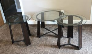 Coffee table & end tables for Sale in Massapequa Park, NY