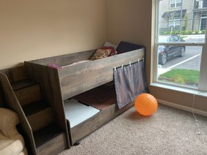 Bunk bed 🛌 with Stairs - quick to go for Sale in Columbus, OH