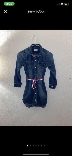 Classic American Girl's Jean Dress Great condition – girls size medium (7/8) for Sale in Fort Worth, TX