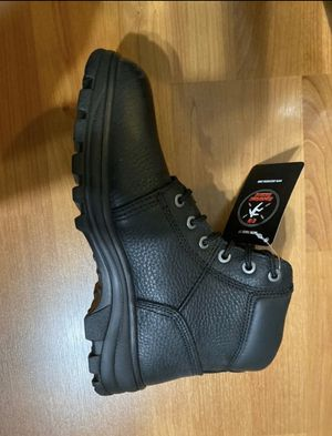 Sketchers boots for work menory foam size 8 men's for Sale in Lake Worth, FL