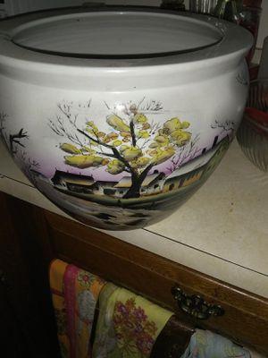 Hand painted ceramic planter for Sale in Fort Belvoir, VA