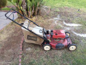 Toro lawn mower for Sale in Riverside, CA