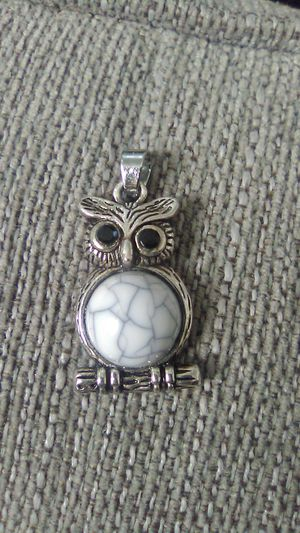 Vintage Owl Charm with Black onxy eyes for Sale in Greensburg, PA