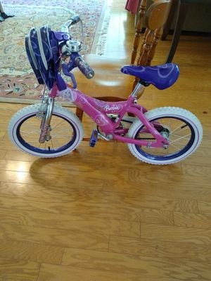 16 inch Barbie bike for girls for Sale in Morrisville, NC