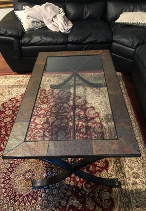 Clear Glass Coffee Table for Sale in Palm Harbor, FL