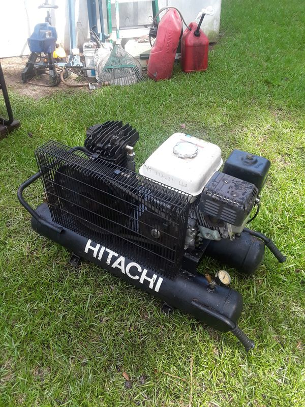 Hitachi 5.5hp Honda gx160. 8g tank