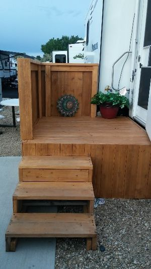 Rv deck for sale for Sale in Caldwell, ID