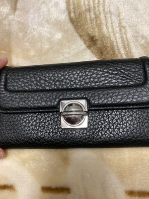NWT Marc Jacobs black leather wallet for Sale in Ruskin, FL