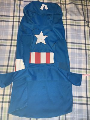 Captain America Dog Costume for Sale in Queens, NY