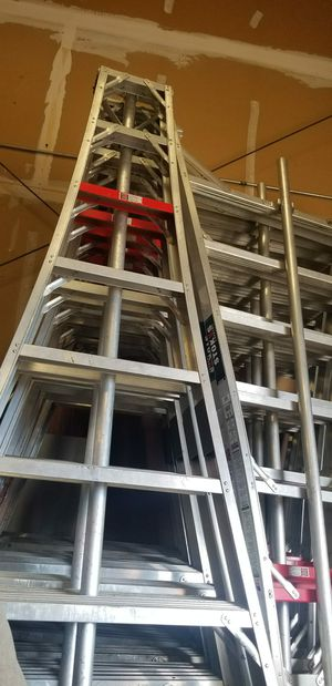 8ft aluminum ladders made in USA for Sale in Modesto, CA