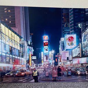 NY Times Square Canvas Picture 30x48 (L/W) for Sale in Pompano Beach, FL