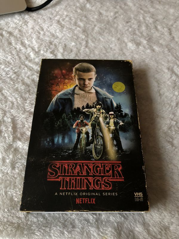Stranger Things series season 1 on disc and blue ray