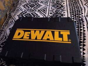 Dewalt drill driver set with battery for Sale in San Diego, CA