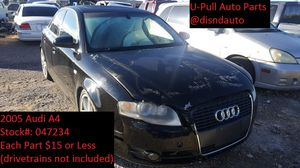 2005 Audi A4 @ U-Pull Auto Parts 047234 for Sale in Las Vegas, NV