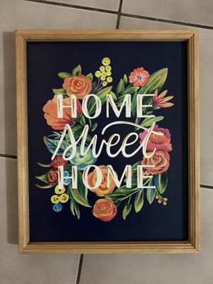 Home Sweet Home Wall Decor for Sale in Seminole, FL