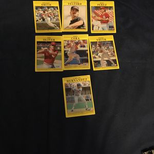 Baseball Cards From 1 Dollar To 2.50$ for Sale in Apple Valley, CA