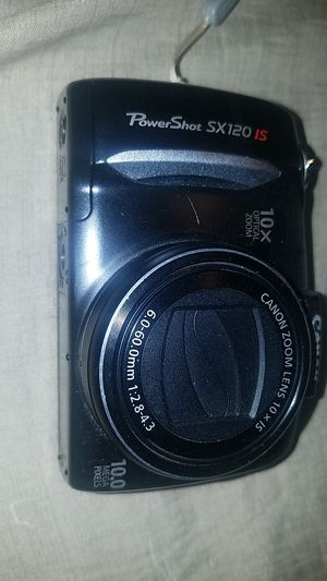 Canon sx120is 10 mega pixel digital camera with 10x optical zoom for Sale in Thomasville, NC