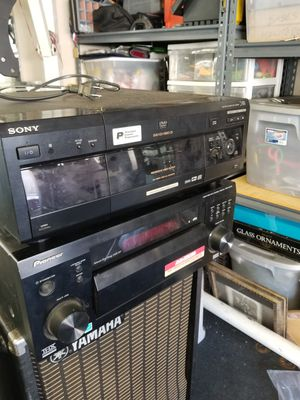 Pioneer receiver Sony DVD/ CD player for Sale in Santa Ana, CA