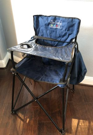 Ciao baby travel high chair for Sale in Cypress, TX