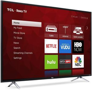 "New 55"" 4K TCL Roku Smart TV for Sale in Riverside, CA"