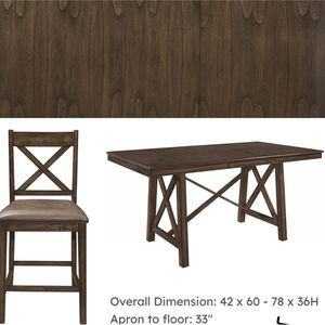 Dinette with four stools brand new for 799 at your grab and go store since 1965 family owned and run we're not Amazon for Sale in Charleston, SC