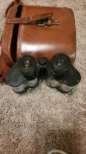 WW1, A GARSTIN & CO. LTD 1916 Case No:2 Prismatic Binocular w/leather case for Sale in Lawrenceville, GA