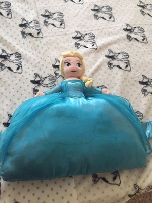 Elsa pillow for Sale in Cedar Park, TX