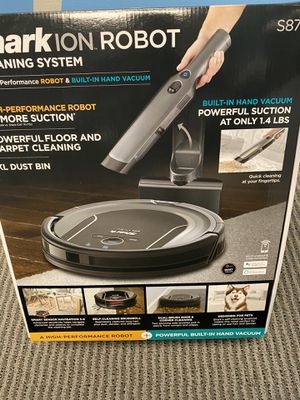Shark-ION Robot Cleaning system & Hand vacuum for Sale in Austell, GA